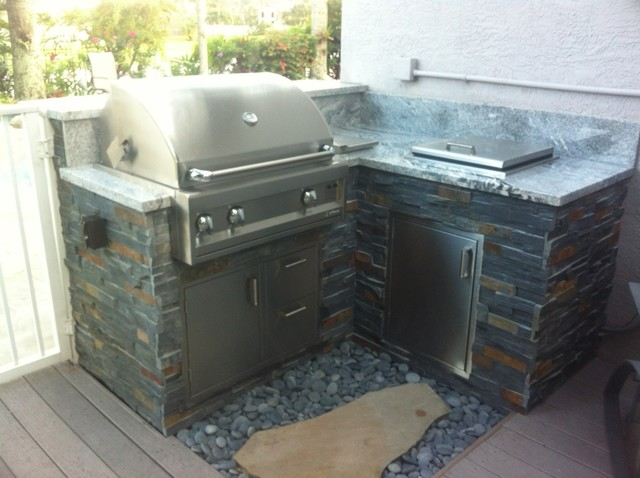 outdoor kitchen traditional patio miami by broward