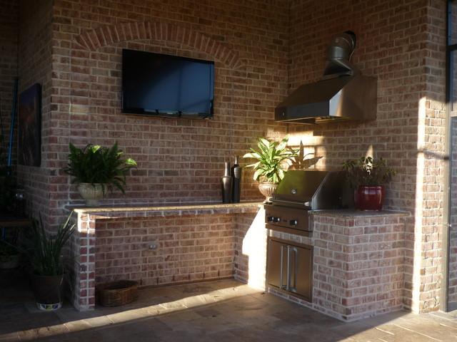 Outdoor kitchen by increte of houston kitchen houston for Outdoor kitchen designs houston