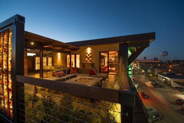 Outdoor Kitchen - Fargo, ND - Contemporary - Patio ...