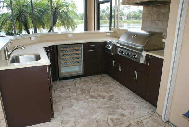 Outdoor Kitchen Naples Fl Modern Patio Other By Outdoor Kitchen Design Center