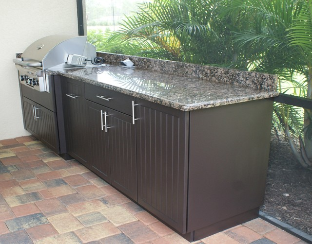 Outdoor Kitchen Naples Fl Modern Patio Other By