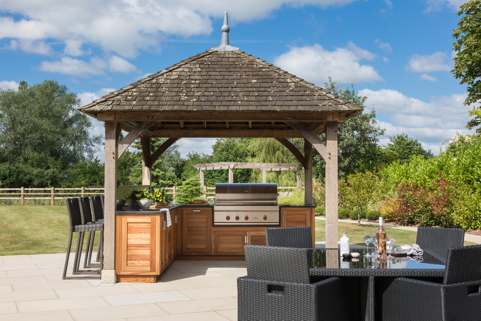 Best Ways To Cover Your Outdoor Kitchen And Use It All Year Long
