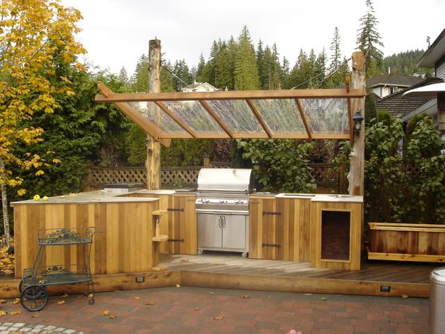 Outdoor Kitchen Classique Terrasse Et Patio