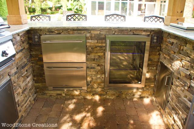 outdoor kitchen contemporary patio orlando by