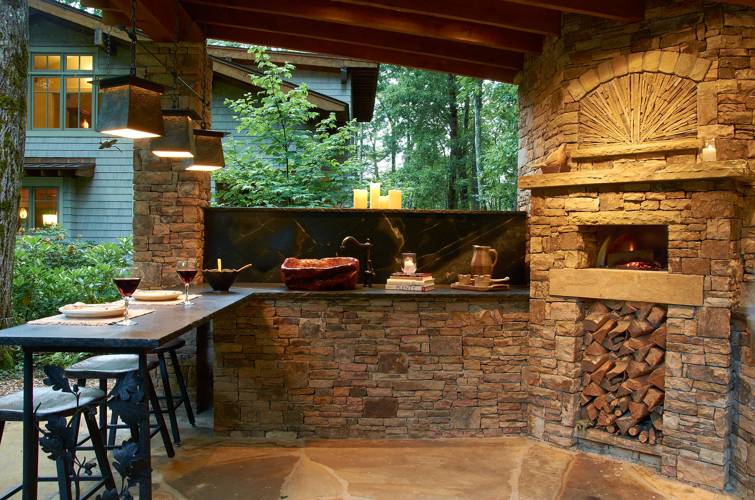Outdoor Grill And Pizza Oven Houzz