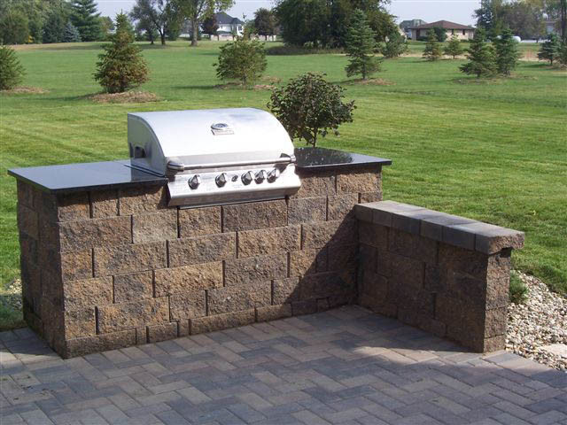 Outdoor Kitchens And Bbq Surrounds Traditional Patio