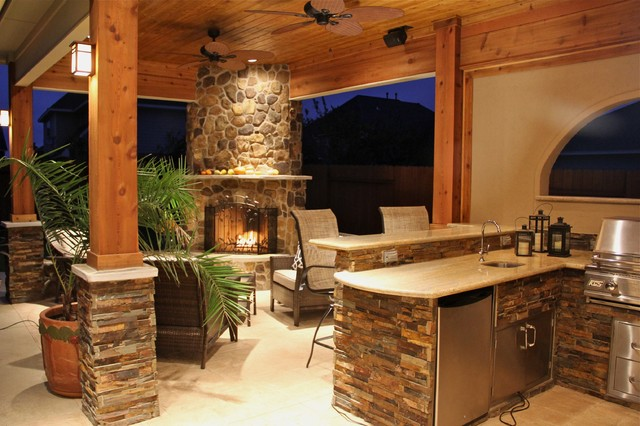 fireplaces contemporary patio houston by texas custom patios