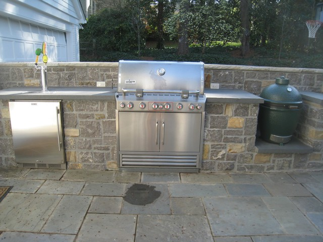 Outdoor Kitchen With Kegerator : Outdoor kitchens and grills patio atlanta by