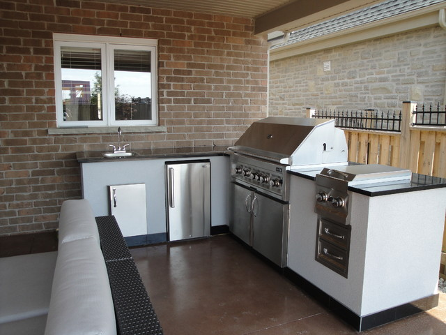 Outdoor Kitchens Contemporary Patio Other by EDIT