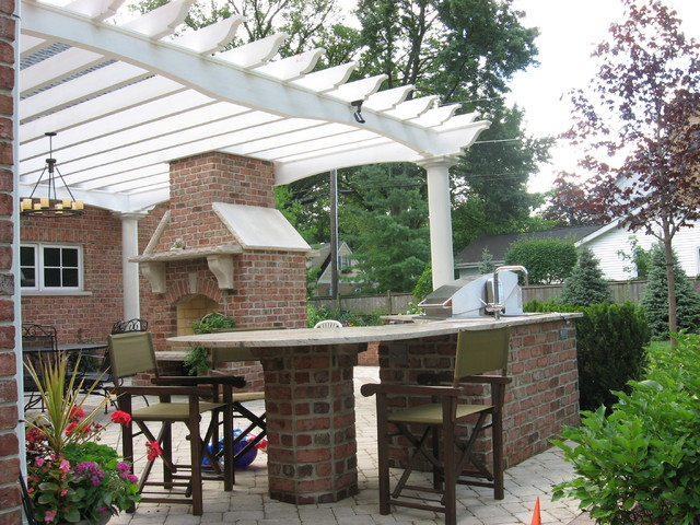 Outdoor Kitchens, Northbrook, IL. traditional-patio