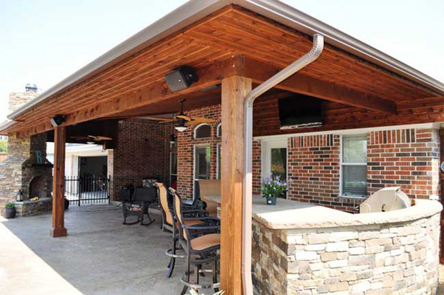 outdoor kitchens patios firepits traditional patio