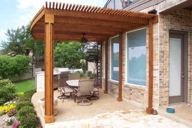 Outdoor Kitchens Pergolas Traditional Patio Dallas By Pulliam Pools