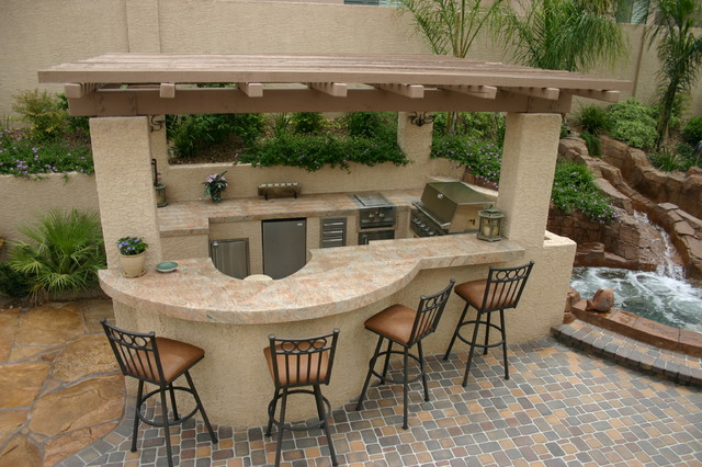 Outdoor Kitchens - Patio - Las Vegas - by Polynesian Pools, Inc