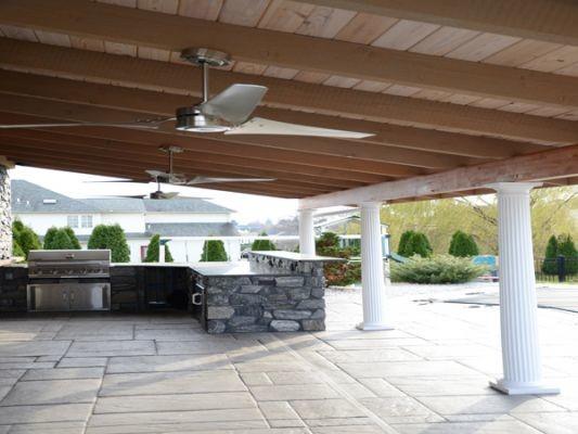 Outdoor Kitchens - Signature Concrete Design traditional-patio