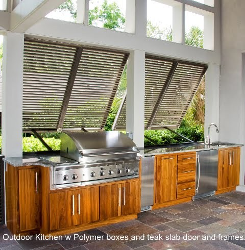 Outdoor Kitchens Tropical Patio Charleston By