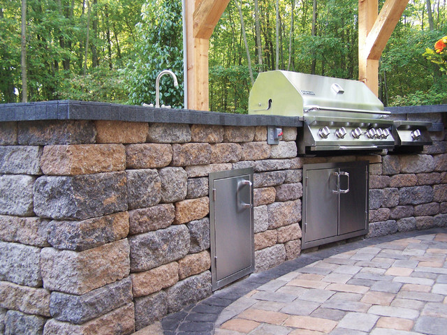 Outdoor Kitchens Contemporary Patio Minneapolis By