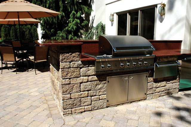 Outdoor Kitchens Contemporary Patio By Versa Lok