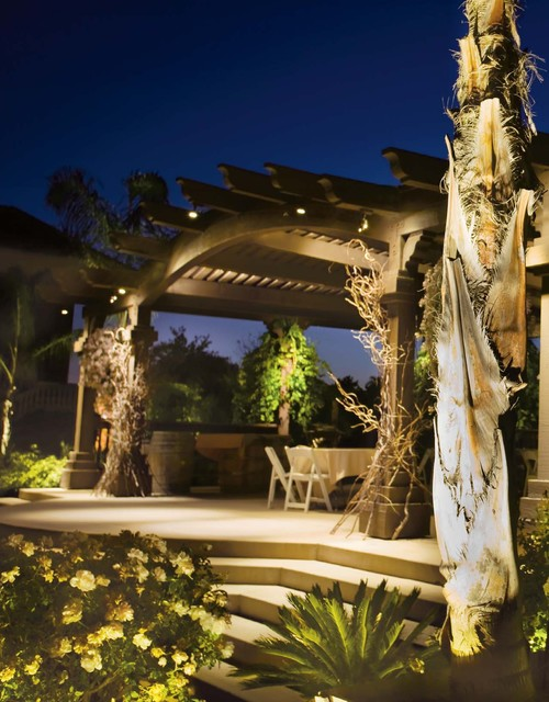 Outdoor Lighting Traditional Patio Calgary By