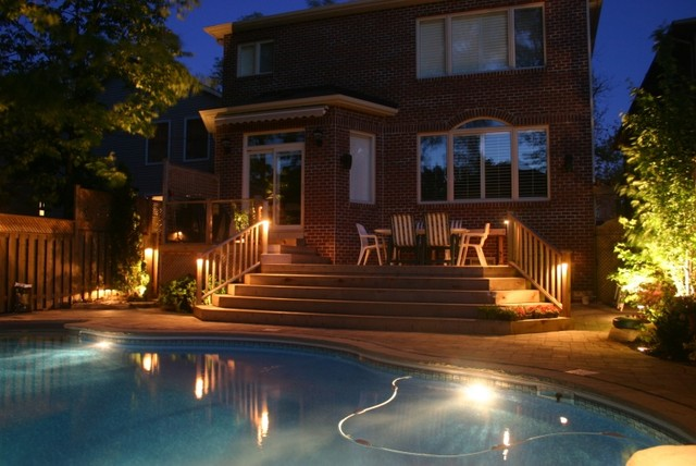 Outdoor Lighting-Toronto traditional-patio