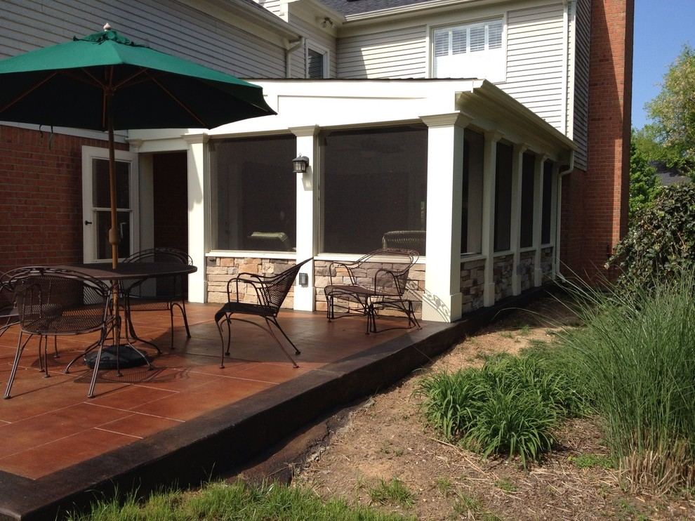 Outdoor Living Addition with Concrete Staining Options ... on Ab And Outdoor Living id=77024
