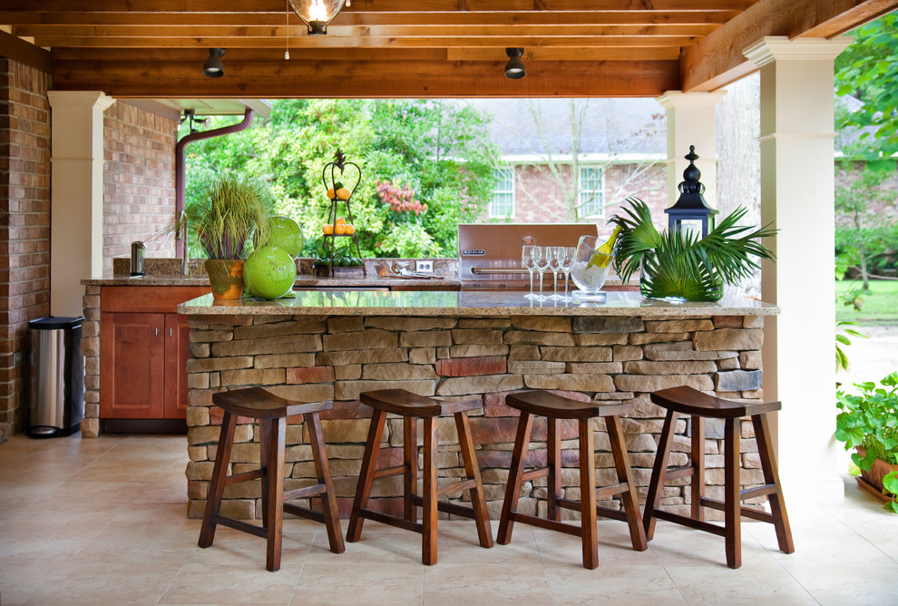 Outdoor Living Traditional Patio, Patio Bar Designs Pictures