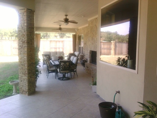 Outdoor Living Area / Kitchen contemporary-patio