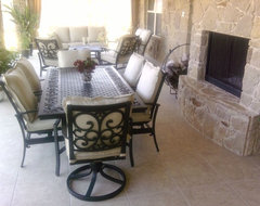 Outdoor Living Area / Kitchen patio