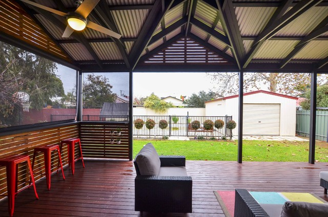 Outdoor Living Area Contemporary Patio Adelaide By