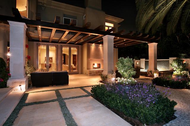 Outdoor living areas - Mediterranean terrace design ideas ...