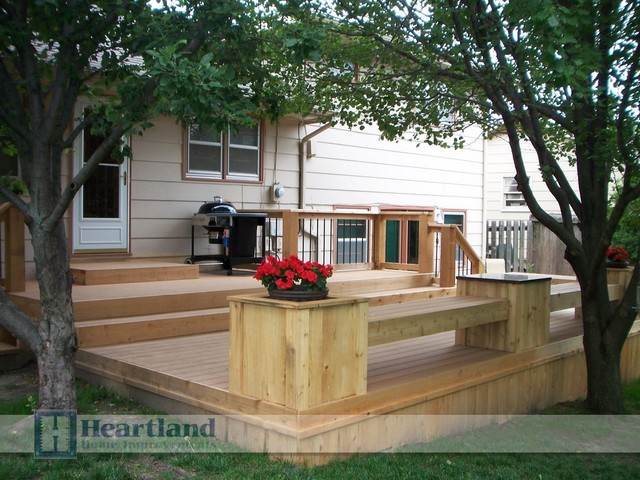 Outdoor Living by Heartland Home Improvements traditional-patio