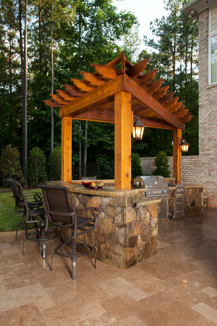 Outdoor living charlotte traditional patio charlotte for Tradition outdoor living