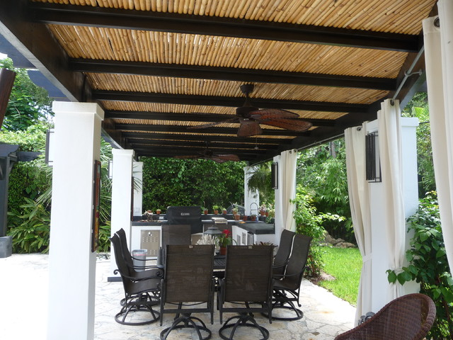 Outdoor Living Design and Construction tropical-patio