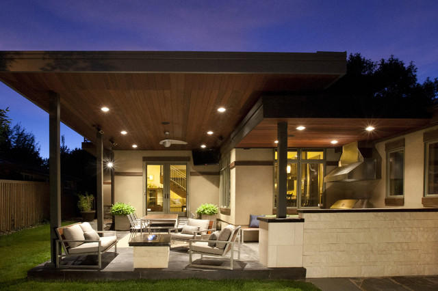 Outdoor Living modern-patio