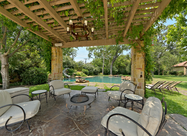 Outdoor Living Eclectic Patio Dallas By Harold