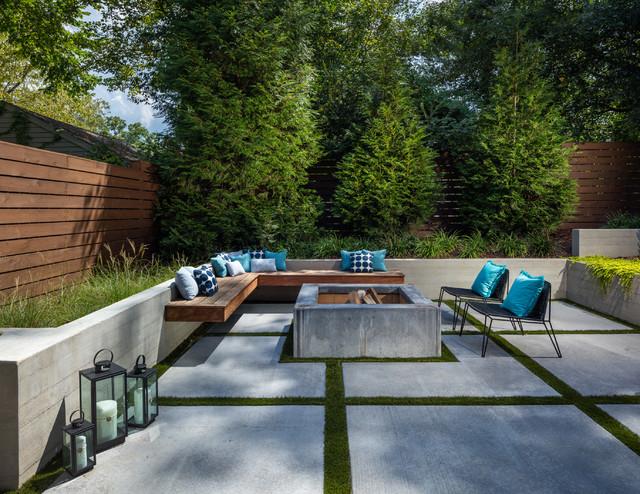 Outdoor Living in Atlanta contemporary-courtyard