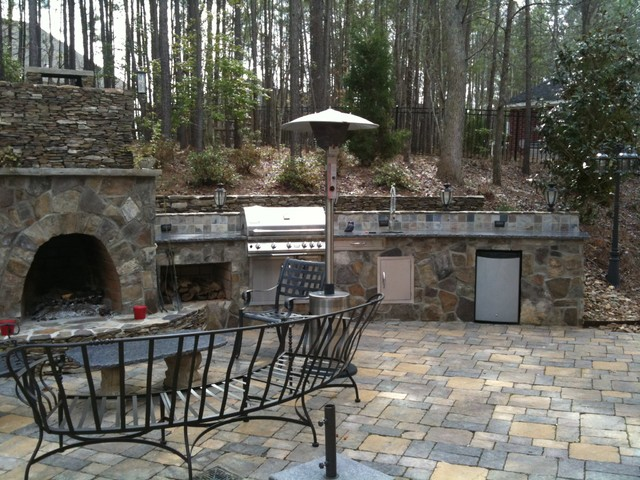 Outdoor living traditional patio charlotte by for Innovative pool design kings mountain