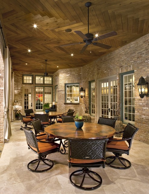 Outdoor Living Oasis traditional patio