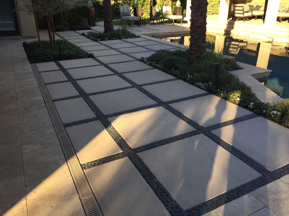 Example of a patio design in Phoenix