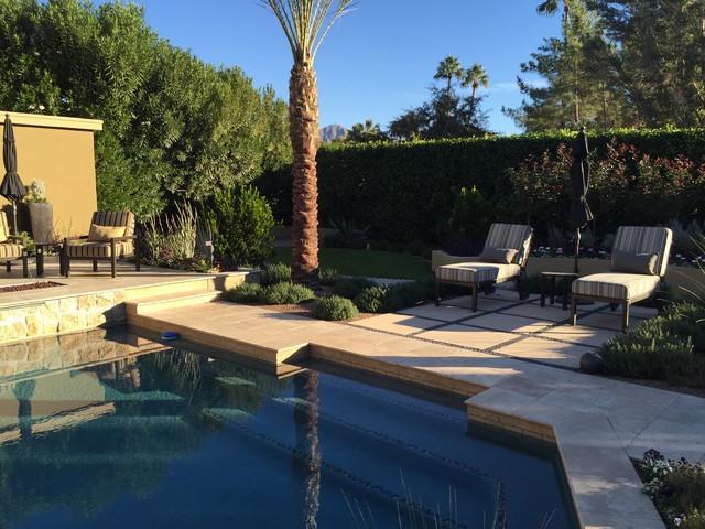 Example of a patio design in Phoenix