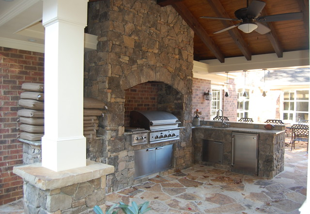 Outdoor Living Projects (Various Clients) traditional-patio