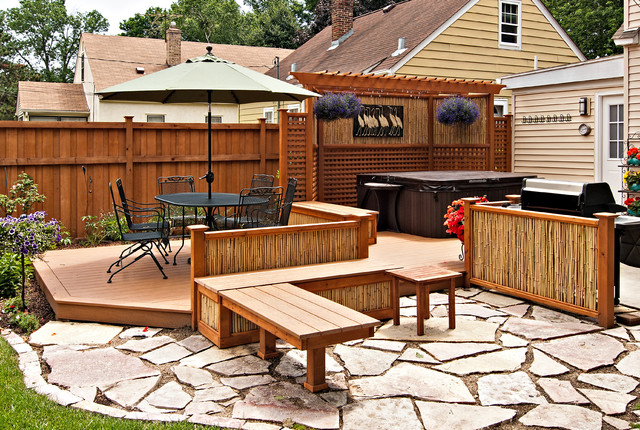 Outdoor living - Tropical - Patio - minneapolis - by ... on Tropical Outdoor Living id=45506