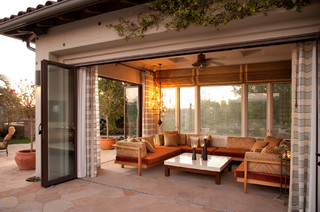 Outdoor Living Mediterranean Patio Los Angeles By Rjohnston Interiors Inc