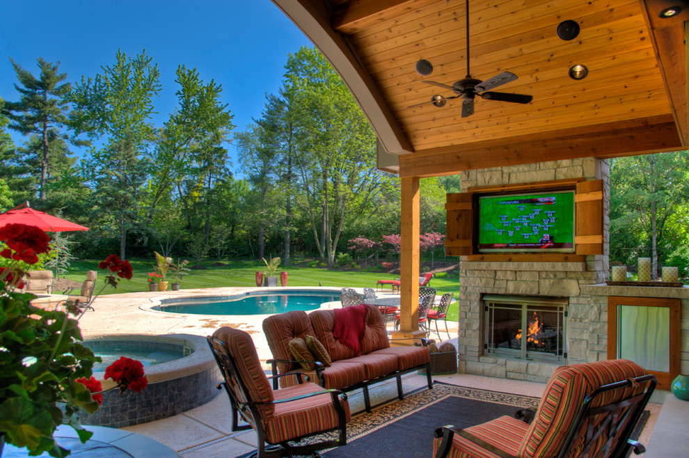 Outdoor Living Rooms - Traditional - Patio - St Louis - by ... on Outdoor Living Space Company id=36961