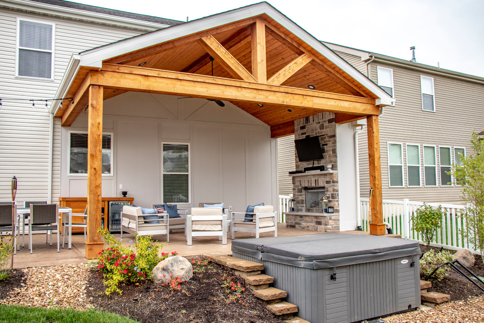 Outdoor Living Space - Patio - St Louis - by Heartlands ... on Outdoor Living Space Company id=78374