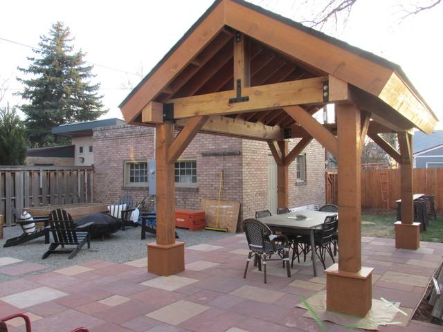 Outdoor Living E Patio Cover Pergola Cedar Post And Beam
