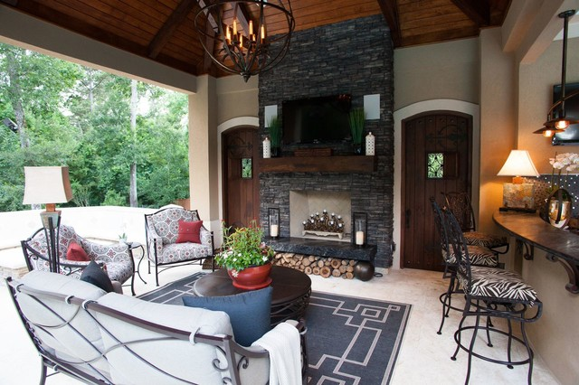 Outdoor Living Spaces Eclectic Patio Houston By