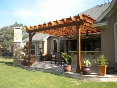 Outdoor Living Spaces Traditional Patio Austin