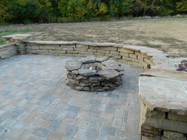 Outdoor Living Spaces rustic-patio