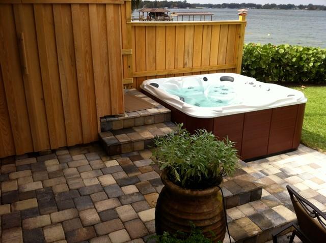 Outdoor Living Spaces - Tropical - Patio - orlando - by ... on Tropical Outdoor Living id=37808