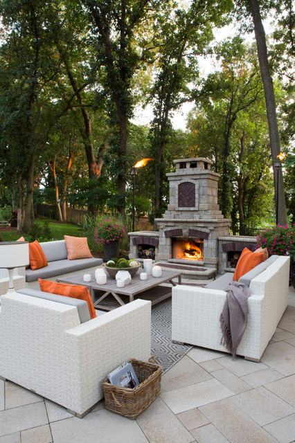 Outdoor Living Spaces Modern Patio Other By R Cartwright Design